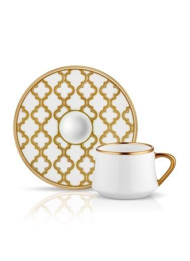 Sufi Türk Kahvesi Set 6'lı Viyana Altın-Koleksiyon
